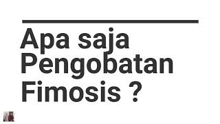 Sunat Perbaikan dgn Fimosis, Dewasa 20 Th.