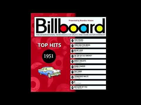 Billboard Top Hits  1951