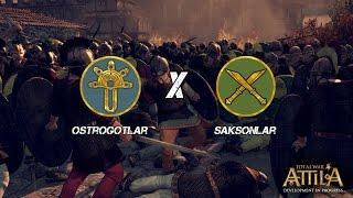 BÜYÜK KANLI MEYDAN SAVAŞI! - Attila Total War - Türkçe Multiplayer