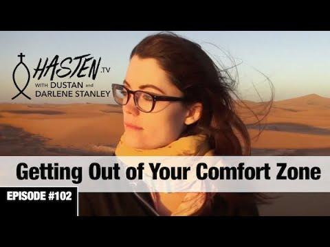 Hasten TV #2 - Getting Out of Your Comfort Zone - Dustan & Darlene Stanley