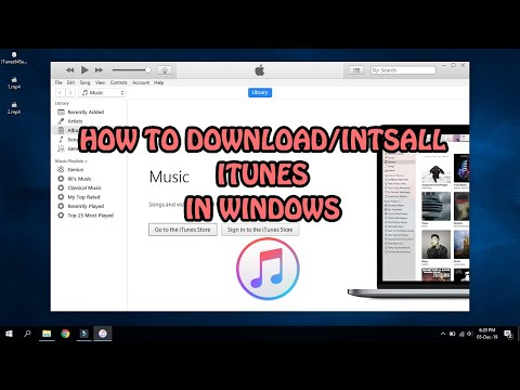 How To Download & Install ITunes (Latest Version) In Windows 10/8/7 | 2019 | Urdu/Hindi Tutorial