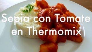 Sepia con tomate en Thermomix – Recetas de cocina