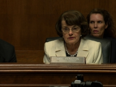 Feinstein on Comey Firing: 'I Was Surprised'