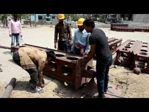 Supreme ERS Tower Installation at Ghaziabad Part-1