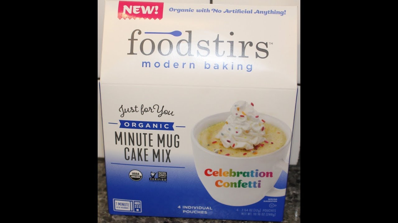 Foodstirs Modern Baking: Celebration Confetti Mug Cake Mix ...