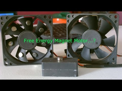 Free Energy Magnet Motor! - Free Energy Generator? - Free Electricity?