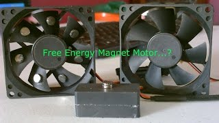 Repeat youtube video Free Energy Magnet Motor! - Free Energy Generator? - Free Electricity?