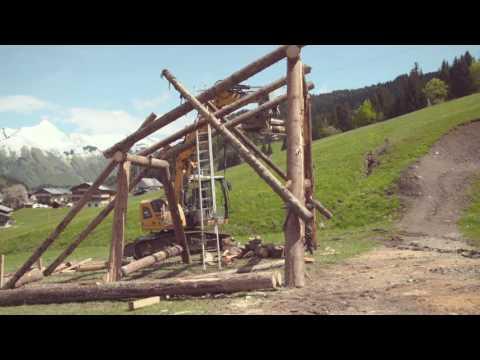 Crankworx Les Gets - Travaux de préparation (23/05/2016)