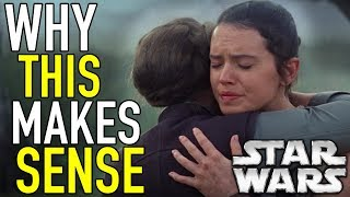 Why Leia Hugging Rey Makes Sense! | Star Wars Theory