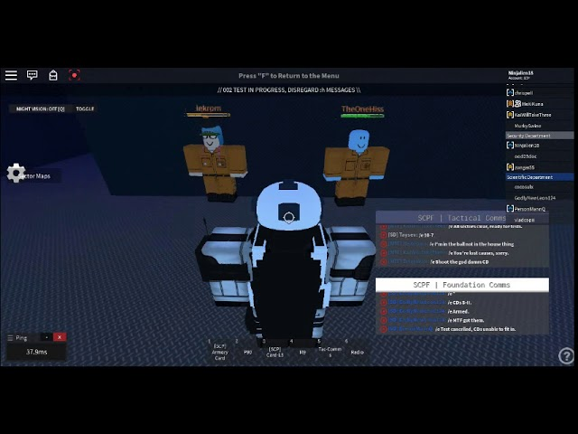 [SCPF] 1st day as SD - SCP 002