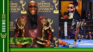 *LIVE EGO* DEONTAY WILDER WINS 2 SPORTS EMMYS AFTER VICIOUS KO! A-SIDE ISHHH! WHERE AJ?