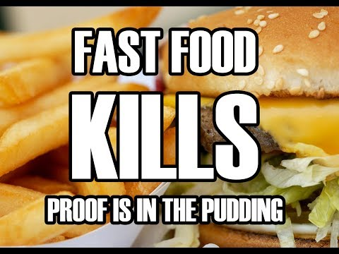 Fast Food Companies Are Drugging & Killing YOU - Proof Is In The Pudding