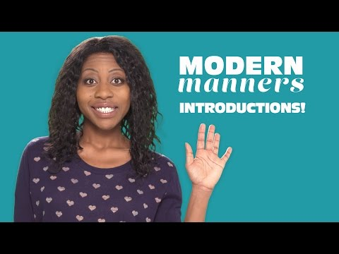 How to Introduce Yourself! (Modern Manners w/ Amy Aniobi)