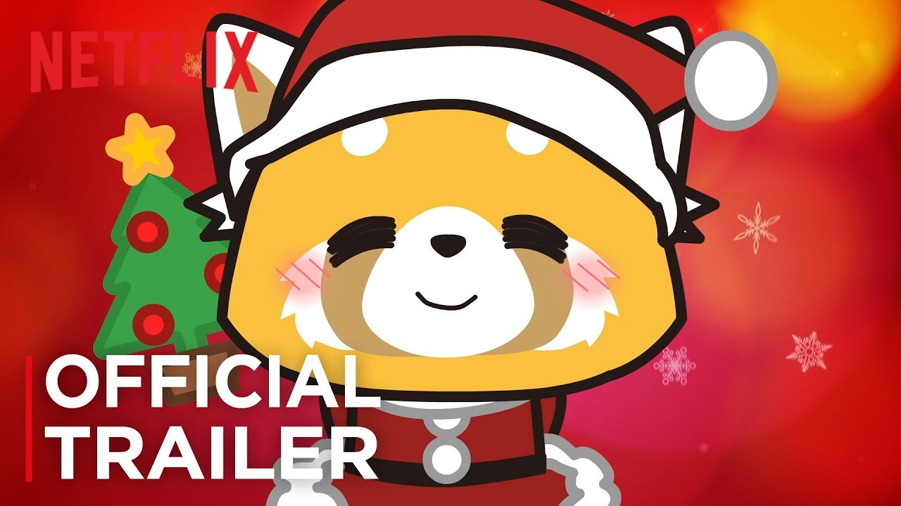 Aggretsuko Christmas.Aggretsuko We Wish You A Metal Christmas Official Trailer Hd Netflix