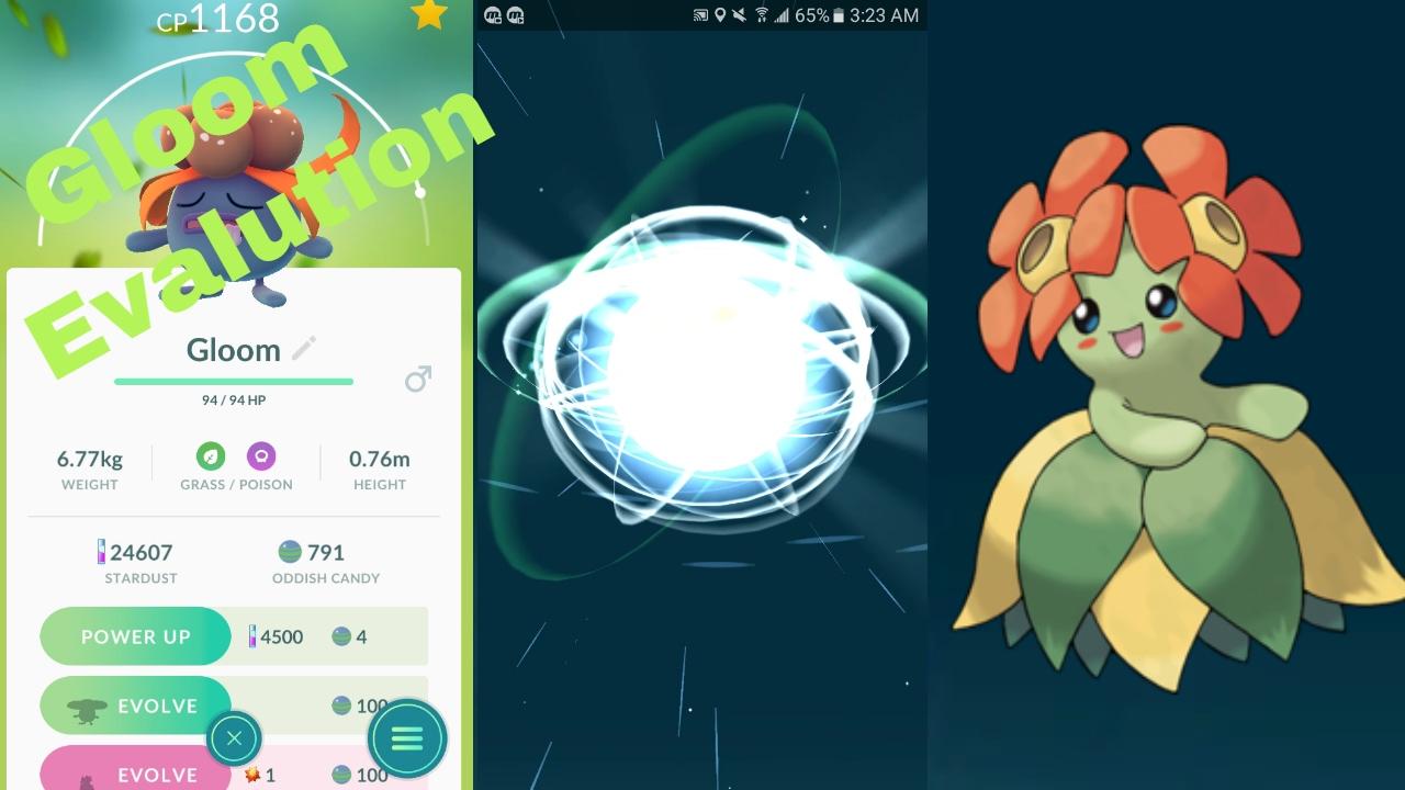 Uncategorized Gloom Pokemon pokemon go gen 2 gloom evolution to bellossom sun stone required youtube