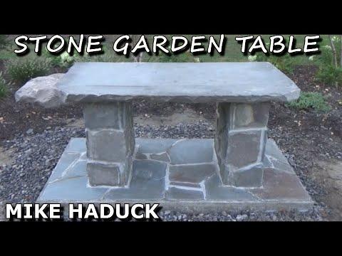 Stone Garden Table   (Mike Haduck)