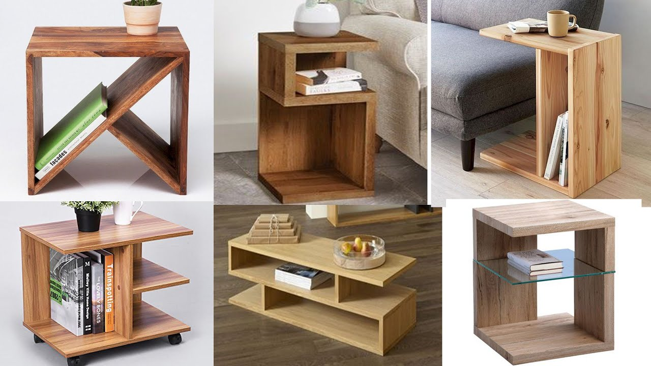 Top 10 DIY bedside tables | Side coffee table design ideas ...