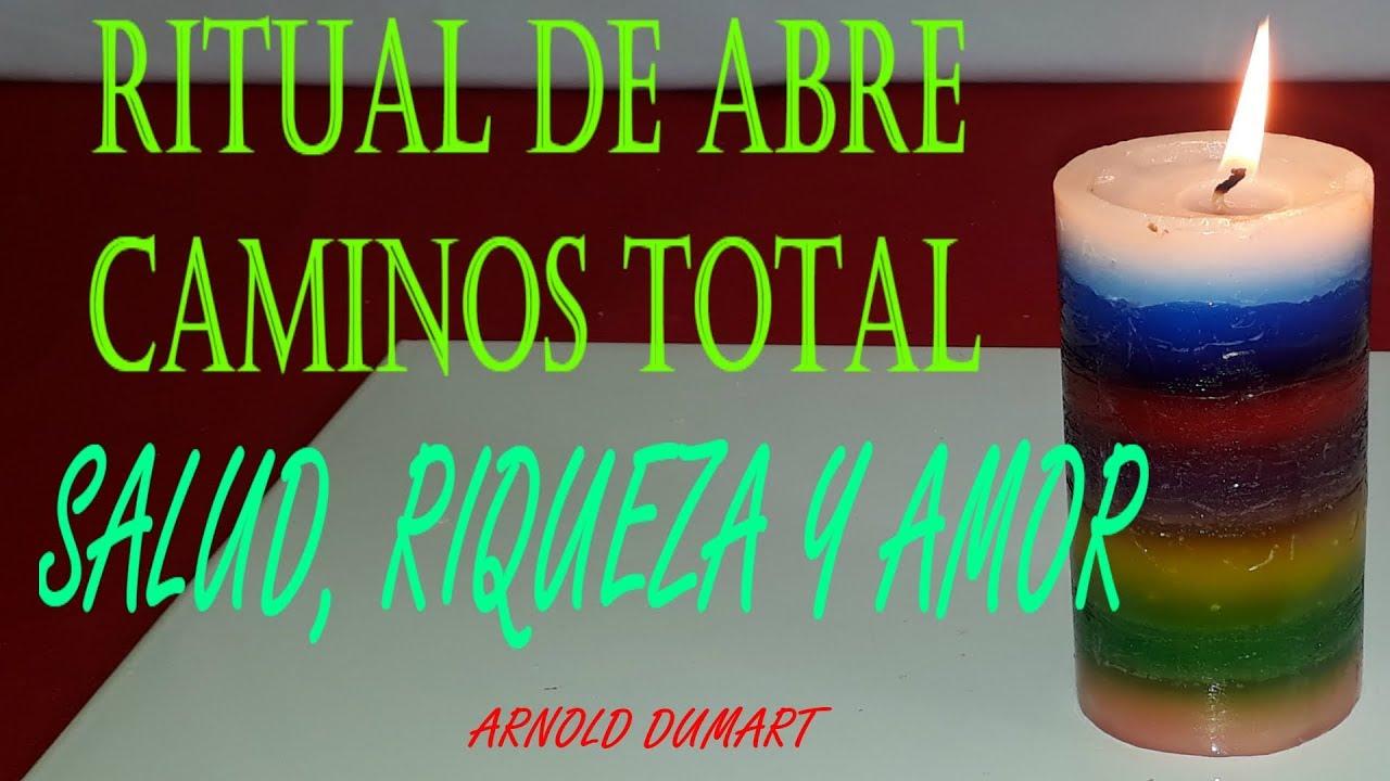 RITUAL ABRECAMINOS PARA EL AMOR RIQUEZA Y SALUD