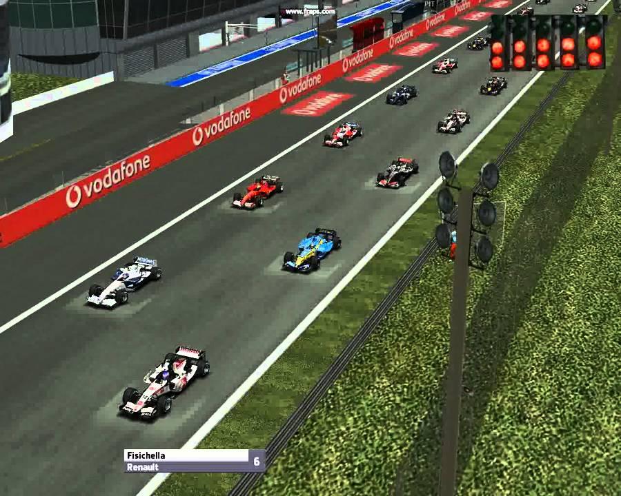 Start of monza race GP4 - YouTube