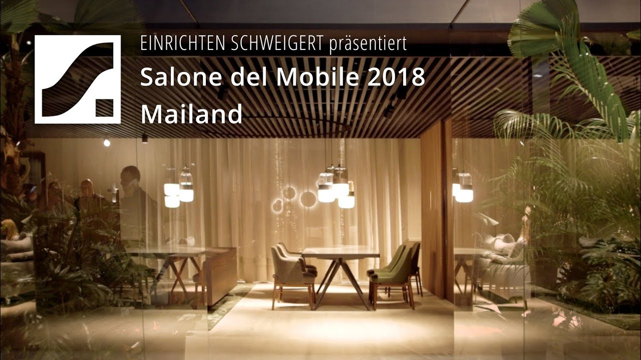 Salone Del Mobile 2018 Designtrends Und Highlights Youtube