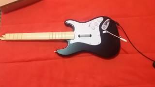 Destapando guitarra Rock band Xbox360