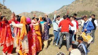 Pahari Dhol Nagade Shehnai Dance at Bhagher Village || Desi Dance || Himachali Culture || H.P. Mandi