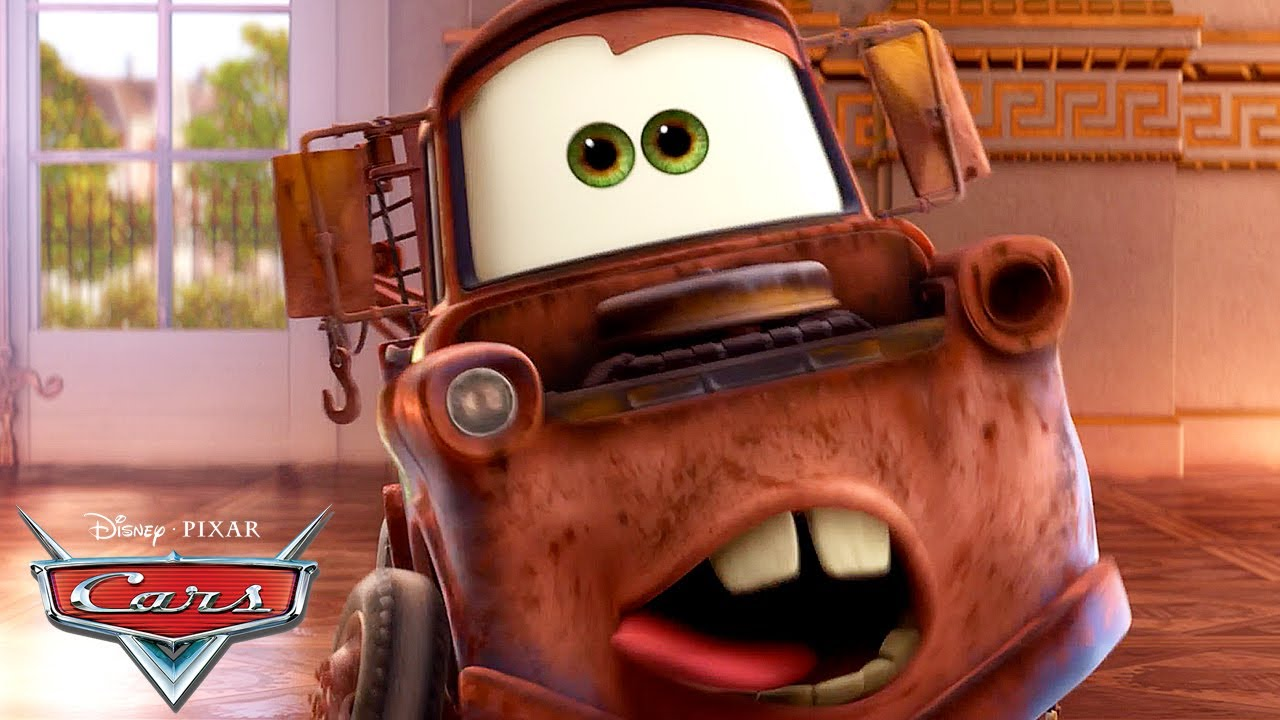 Mater S Funniest Moments Pixar Cars Youtube