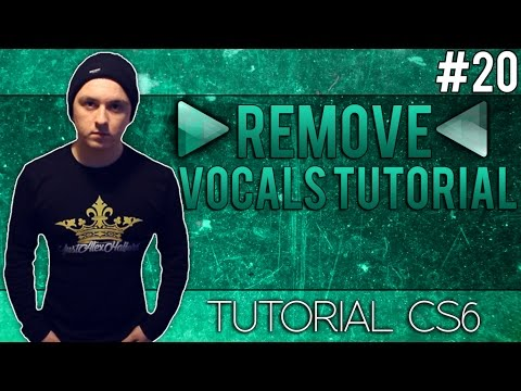 How To Remove Vocals From A Song In Adobe Audition CS6 - Tut