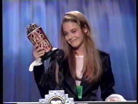 MTV Movie Awards 1994 - Best Vilain - Alicia Silverstone