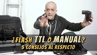 Flash: що TTL або Ручної? 5 порад з цього питання
