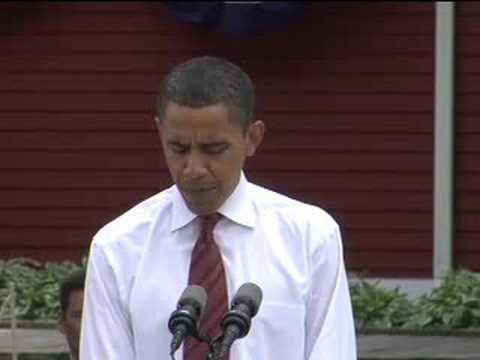 Barack Obama on Veterans in Fargo, ND