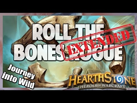 Hearthstone   Roll the Bones Rogue   Extended Gameplay