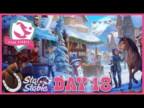 Day 18 Holiday Calendar 2018 🐴 Star Stable Online