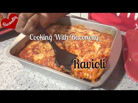 Baked Ravioli | Cooking With #Baconetty