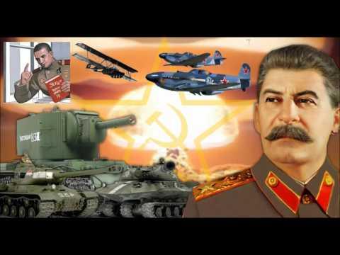 WARNING EXTREMELY LOUD STRONK GLORIOUS SOVIET ANTHEM EARRAPE