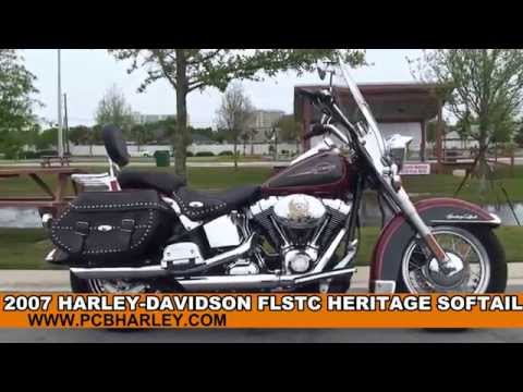 Used 2007 Harley Davidson Heritage Softail Classic Motorcycles for sale Dothan Al