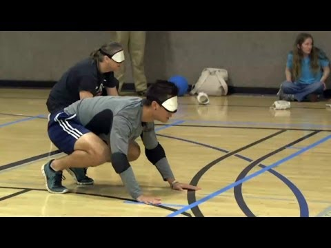 Goalball Course At UC Berkeley