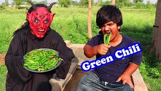 Chotu Raja Vs Shaitan ki Green Chili (Chotu Raja Ki Aik New Video)