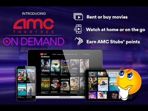 AMC Theaters Launches On Demand Streaming Service (What Does This Mean For The Future Of Movies?)