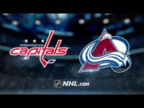 Washington Capitals vs Colorado Avalanche NHL Game Recap
