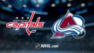 Washington Capitals vs Colorado Avalanche NHL Game Recap