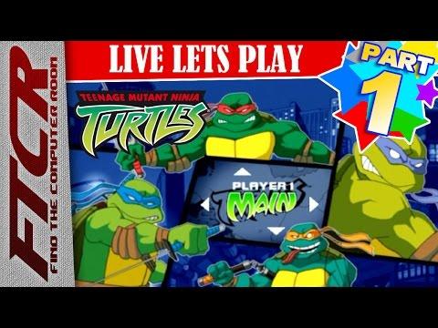 "'Teenage Mutant Ninja Turtles' (2003) Let's Play - Part 1: ""TURTLES!!!"""