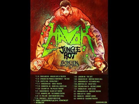 Havok, Jungle Rot and Extinction A.D. are set to head out on tour together