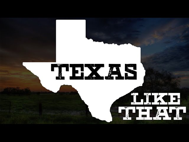Zane Williams- Texas Like That (OFFICIAL LYRIC VIDEO)