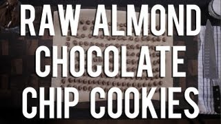 The Raw Chef Tv | Raw Food Almond Chocolate Chip Cookie Recipe