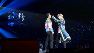 191111 Taeyong Ten Baby Don't Stop @ SuperM 슈퍼엠 We Are The Future Fort Worth Live Concert Fancam