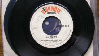 Seed You Sow - Winston Wright and The Gaytones