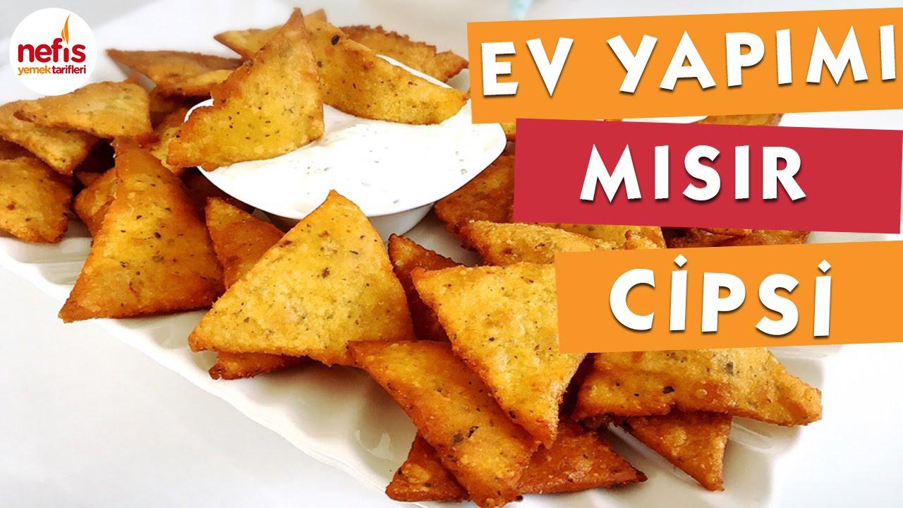 5 dakkada Tortilla (Lavaş) Cipsi Nasıl Yapılır – videolu tarifler – Yemek Tarifleri