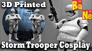 3D Printed Ep.7 Storm Trooper Cosplay @ PAX Prime - Day 2
