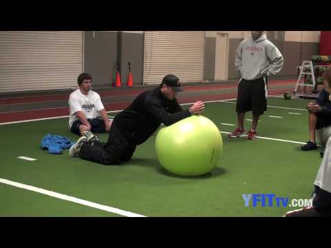 Great Core Strengthening Drill! - Youth Fitness Exercise of the Week